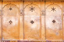 Patterns With Stars On Wall Of...