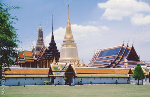 Photo  tempel,wat pra keo in bangkok.