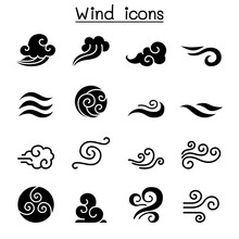 Wind Icon Set