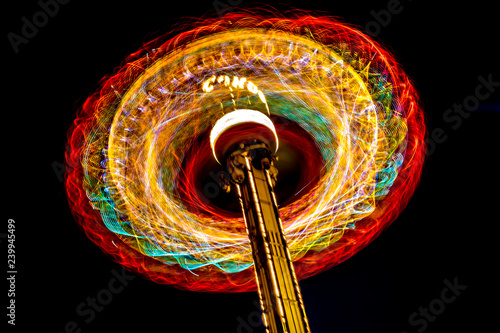 Photographie  Park Wheel Long exposure shot at the night