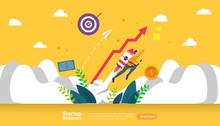 Start Up Idea Concept. Project...