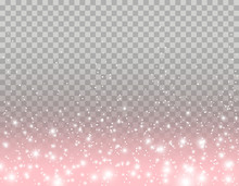 Pink Glitter Particles, Shine ...