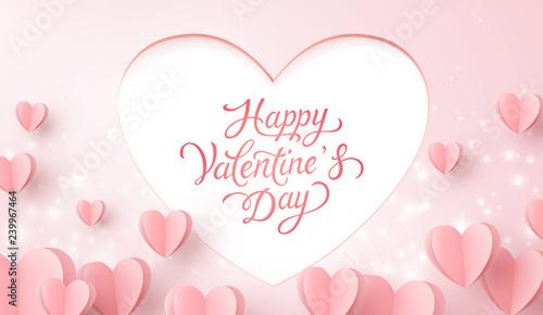 Fotografía  Happy Valentine's Day postcard