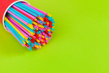 Colorful Straws For Beverage S...