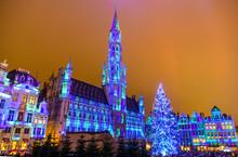 Christmas  Lights Show On The ...