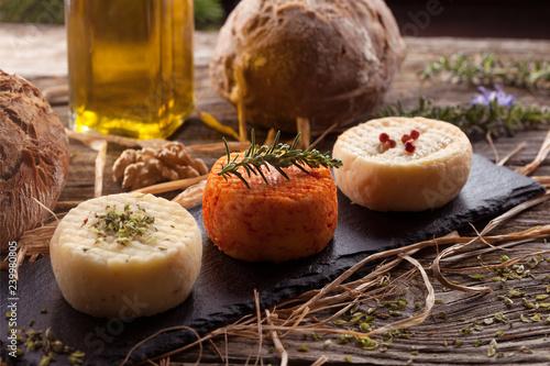 Plateau de fromage_chèvre