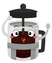 Mascot Cafe Press Illustration