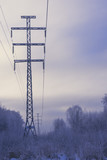 Power line and its elements - 239991688
