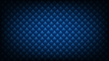 Quilted Blue Background