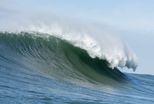 Big Wave Cresting At Mavericks...