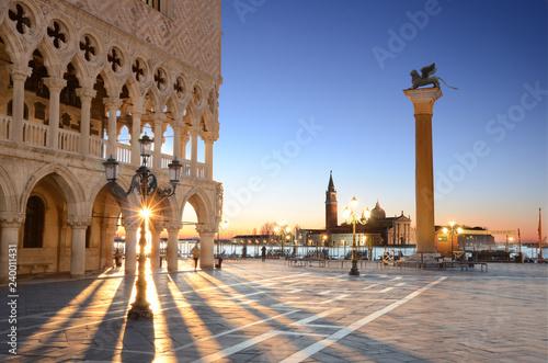 Fotografie, Obraz  Sunrise St. Mark's Square Venice, Italy