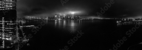 Fototapety, obrazy: Tribute in lights 2018 Panorama