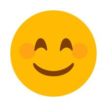 Smiling Face Vector Emoji