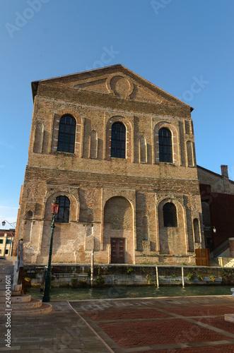 Fotografie, Obraz  Scoula Grande Misericordia in Venice Italy