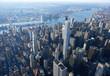High above New York City