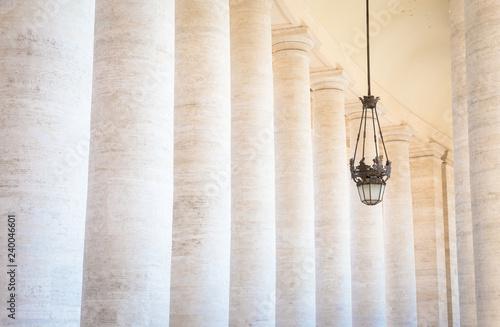 Photo  Bernini Colonnade at Vatican