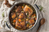 Homemade French Coq Au Vin Chicken - 240049297