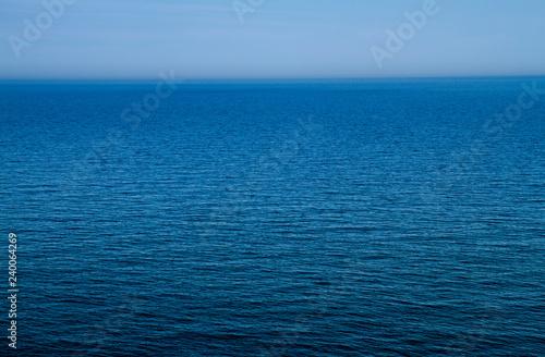 Canvas Print the calmness of the sea