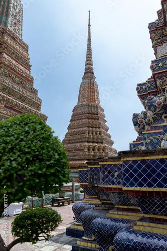 Photo  wat arun temple in Bangkok Thailand