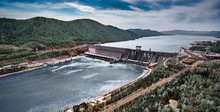 Aerial View Of Hydroelectric P...