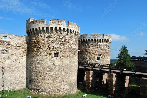 Foto  The old fortress in Belgrade, Serbia