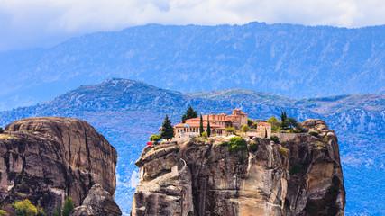 Fototapeta na wymiar Monastery of the Holy Trinity i in Meteora, Greece