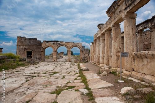 Fotografie, Obraz  Domitian gate in Hierapolis