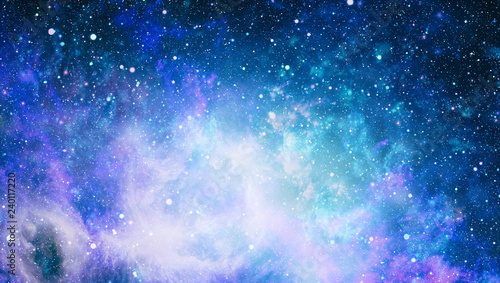 Garden Poster Universe The center of milky way galaxy and space dust in the universe, Night starry sky with stars ,