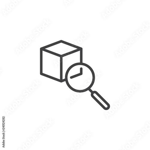Fotografía  Item search outline icon