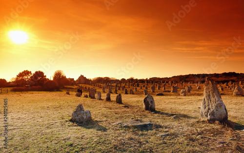 Fotografía Carnac standing stones in Brittany