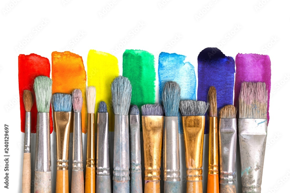 Fototapeta Paintbrush art paint creativity craft