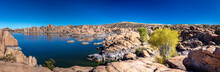 Picturesque Watson Lake In The...