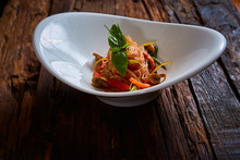 Glass Noodles With Mushrooms A...