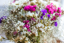Bouquet Of Dried Flowers Limon...