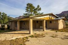 Old Abandoned One Level House