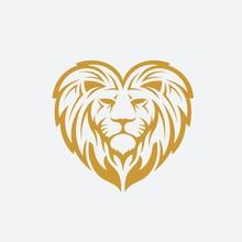 Love Lion Vector