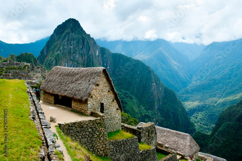 Machu Picchu Inca Ruins - Peru Wallpaper Mural