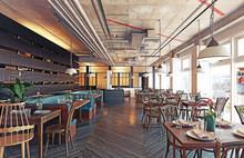 Modern Restaurant Interior Des...