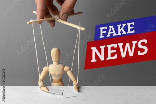 Fotografering Fake News