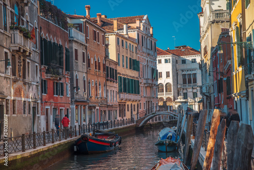 Poster Bridges Water channels in the city of Venice
