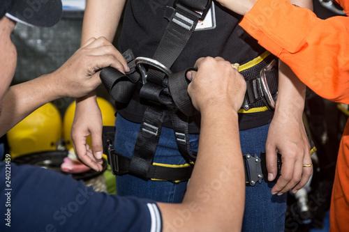 Fotografie, Obraz  Working at height equipment