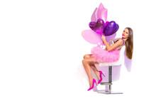 Beauty Fashion Model Party Gir...