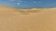 Schlangenlinien im Wüstensand
