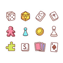Board Game Icons