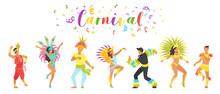 Carnival Dancer Silhouette.