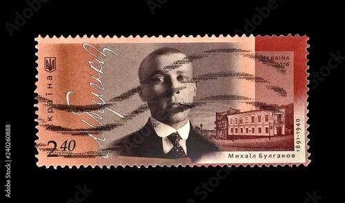 Photo  Bulgakov Mikhail (1891-1940), famous russian writer, doctor, playwright, circa 2016