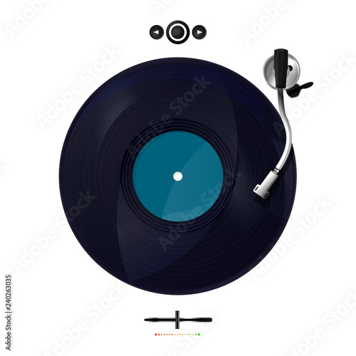 Photo Vector turntable