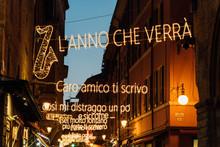Via D'Azelio, Lucio Dalla Lyri...