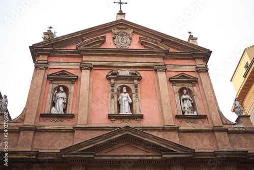 Valokuva  Bologna, Italy - December 18, 2018 : View of San Benedetto church