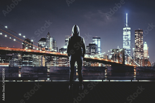 Fototapeta Urban and hacking concept obraz
